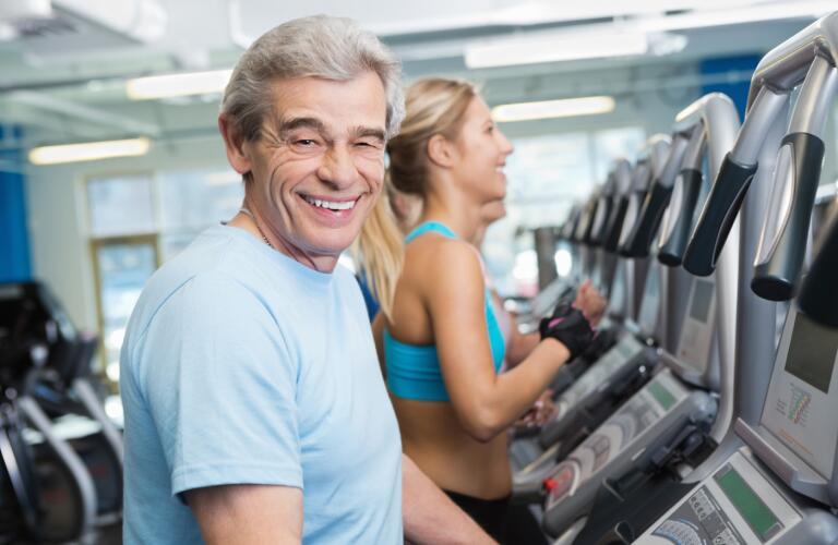 active-senior-man-exercising-on-treadmill