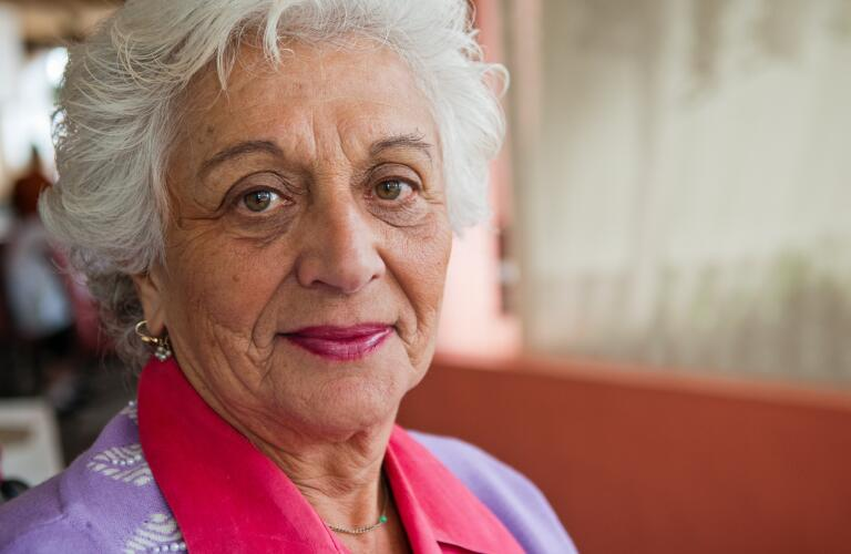 senior woman of Jewish descent