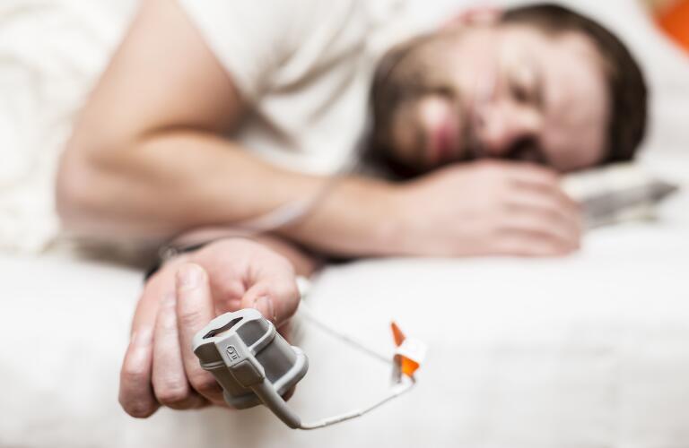 Sleep Apnea Diagnostic medical device Kit at home