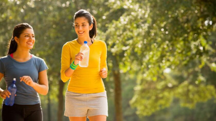 Why You Should Exercise, walking, hydrate, park, walk with a friend