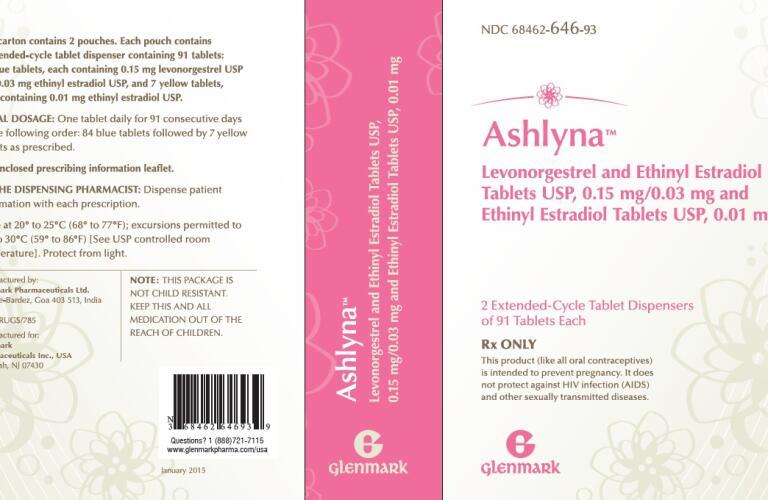 ASHLYNA (levonorgestrel and ethinyl estradiol and ethinyl estradiol kit) Packaging 4