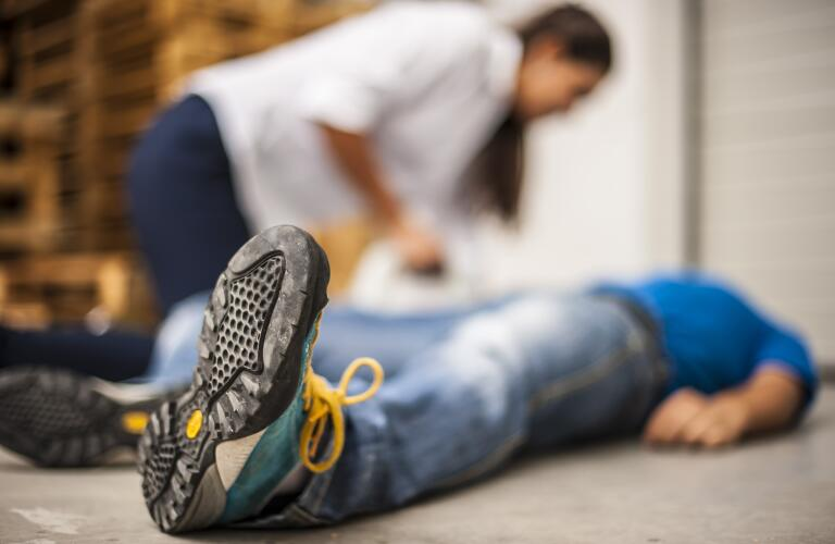 first-aid-on-floor