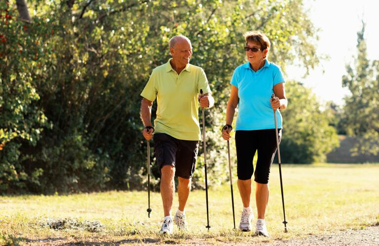 happy-retirees-nordic-walking