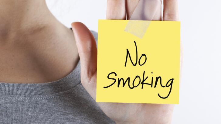 Mensagem Proibida Fumar