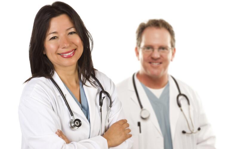 smiling doctors