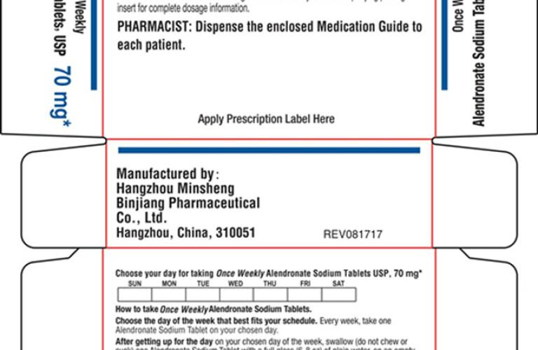 ALENDRONATE (alendronate sodium tablet) Packaging 4
