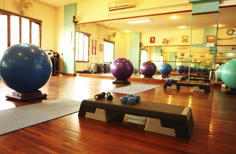 Health Club and Aerobics Gym