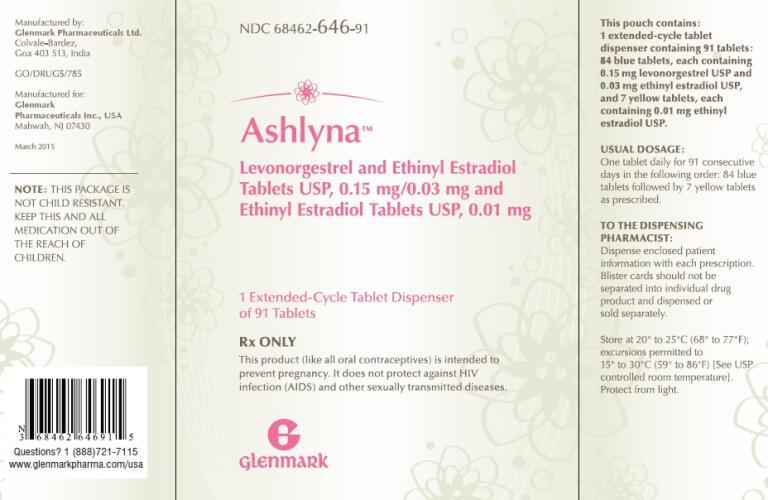 ASHLYNA (levonorgestrel and ethinyl estradiol and ethinyl estradiol kit) Packaging 5
