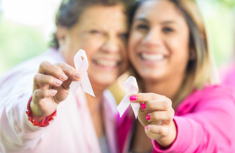 Mother, daughter breast cancer