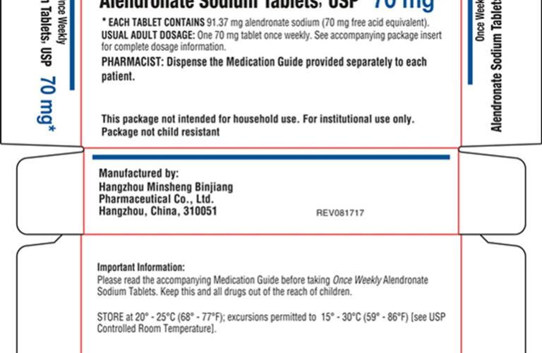 ALENDRONATE (alendronate sodium tablet) Packaging 6