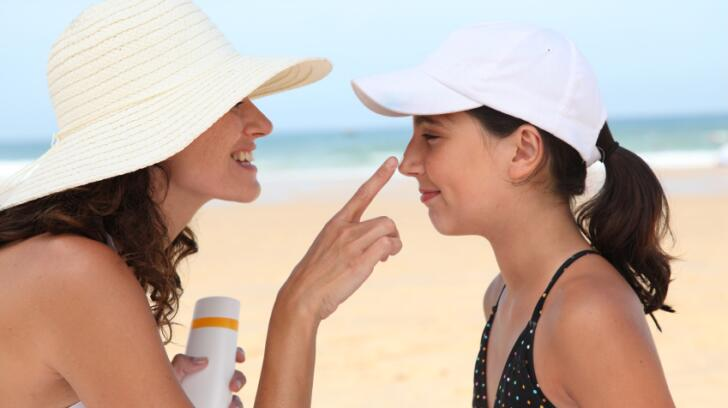 Protecting children's skin from the sun