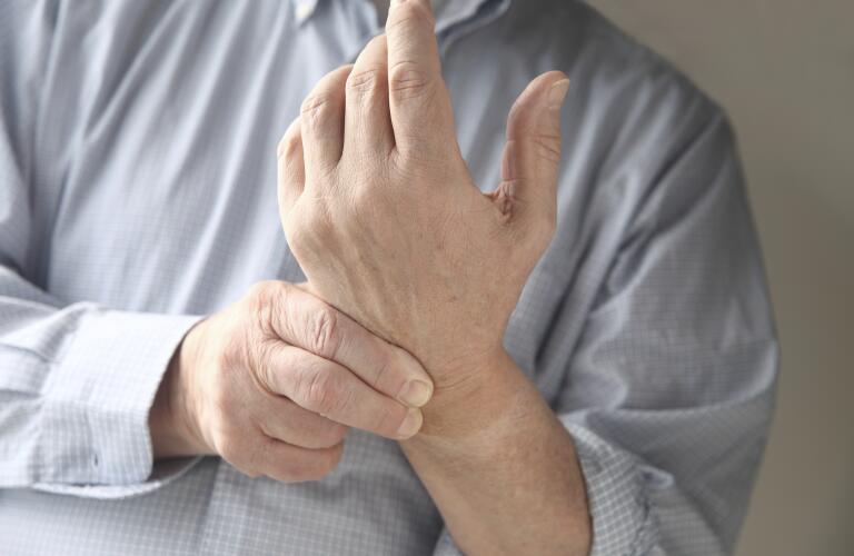 Man with Wrist Pain