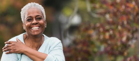 Smiling-senior-african-american-woman