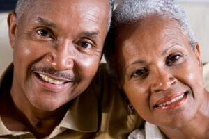 Smiling African-American Couple