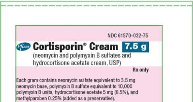 CORTISPORIN (neomycin sulfate, polymyxin b sulfate, and