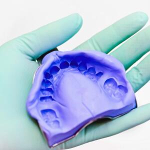 dental silicone impression
