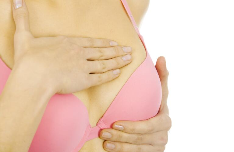 self-breast-exam-to-check-for-breast-lumps