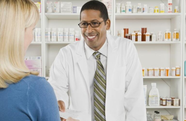 Women at the pharmacy