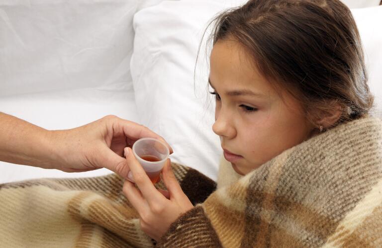girl-taking-medicine