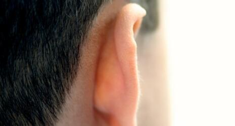 Mans ear