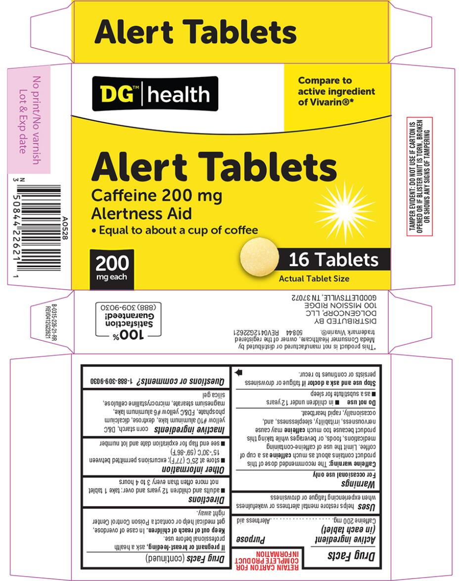 ALERT (caffeine tablet): Side Effects, Interactions