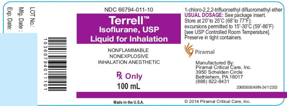 TERRELL Isoflurane Liquid Side Effects Interactions Warnings