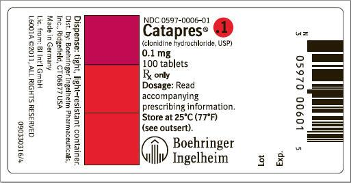 CATAPRES (clonidine hydrochloride tablet): Side Effects