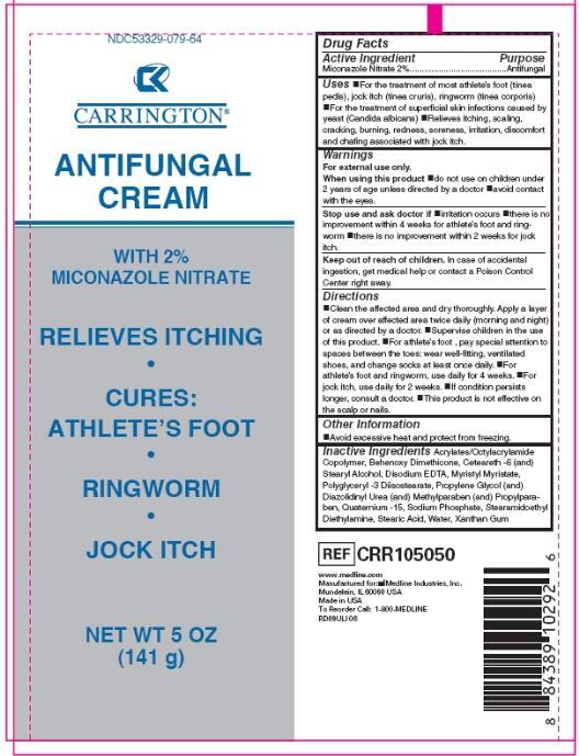 CARRINGTON ANTIFUNGAL (miconazole nitrate cream): Side