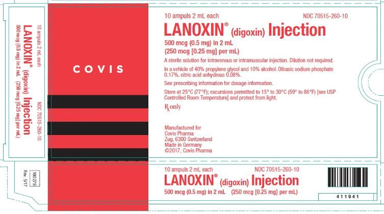 Lanoxin Digoxin Injection Solution Pictures Images Labels