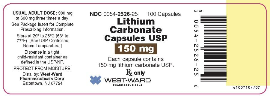 LITHIUM CARBONATE (tablet): Side Effects, Interactions