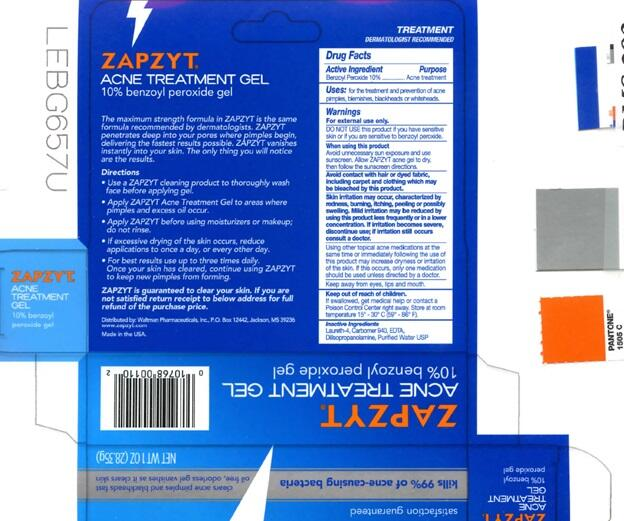 Zapzyt Acne Benzoyl Peroxide Gel Healthgrades Com