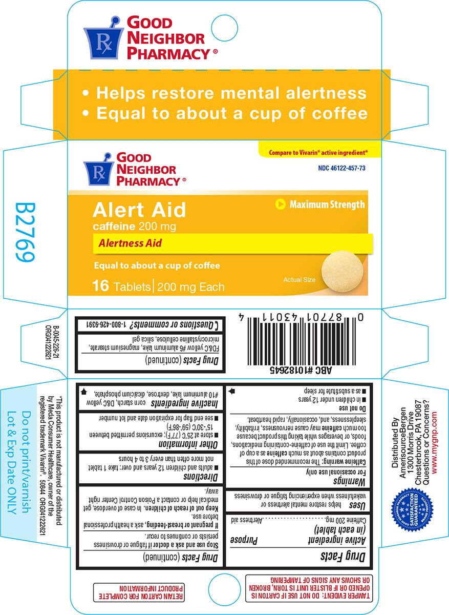ALERT AID (caffeine tablet): Side Effects, Interactions
