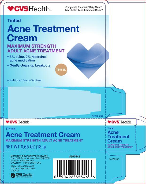 Acne Treatment Maximum Strength Cvs Resorcinol 2 00 Sulfur 8 00