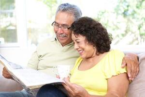 old Hispanic couple