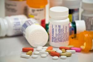 Several medicine bottles