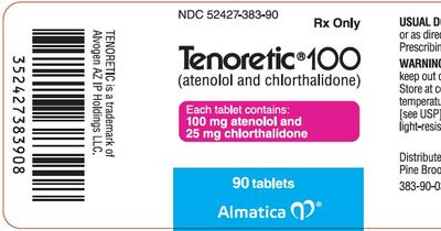 TENORETIC (atenolol and chlorthalidone tablet): Side Effects