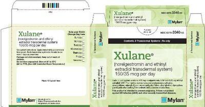 birth control patch xulane dosage