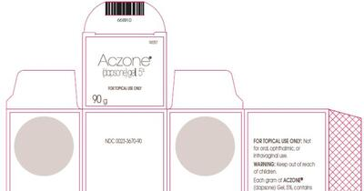 ACZONE (dapsone gel): Side Effects, Interactions, Warnings, Dosage & Uses |  Drugs A-Z