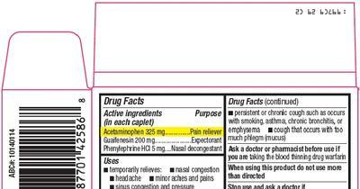 GOOD NEIGHBOR PHARMACY SINUS RELIEF (acetaminophen