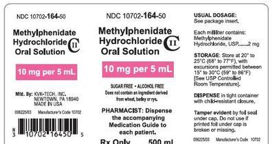 METHYLPHENIDATE (methylphenidate hydrochloride solution