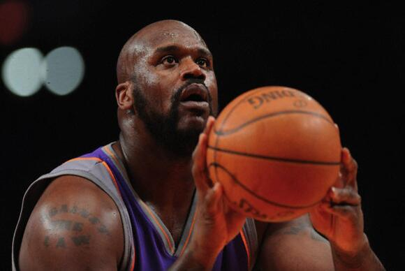 1: Shaquille O'Neal