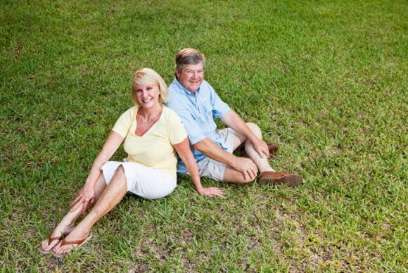 Knee arthritis is common.