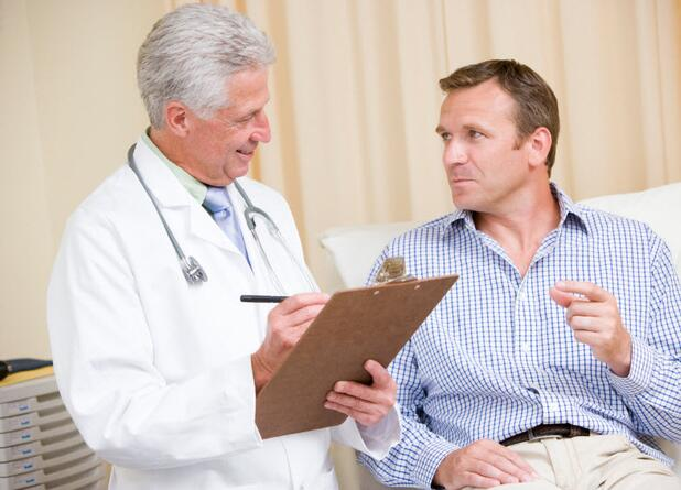 man talking to doctor, consultation, examination, doctor, consult,
